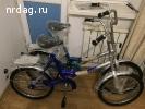 Велосипед новый складной